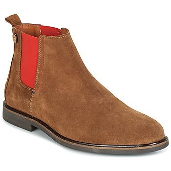 Topánky Muži Polokozačky Faguo CORK02 Hnedá
