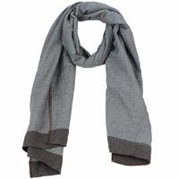 Textilné doplnky Ženy Šále, štóle a šatky Antik Batik ZOE Modrá / Hnedá