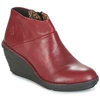 Topánky Ženy Polokozačky Fly London SIPI 671 Červená