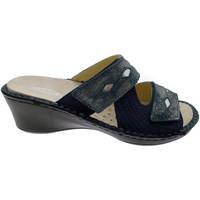 Topánky Ženy Šľapky Calzaturificio Loren LOM2653bl blu