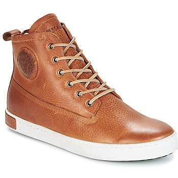 Topánky Muži Členkové tenisky Blackstone GM06 Hnedá