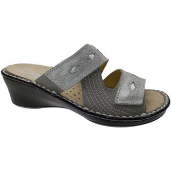 Topánky Ženy Šľapky Calzaturificio Loren LOM2653gr grigio