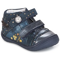 Topánky Dievčatá Polokozačky Catimini ROSSIGNOL Námornícka modrá