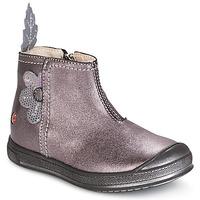 Topánky Dievčatá Polokozačky GBB ROMANE Wood / De / Ružová