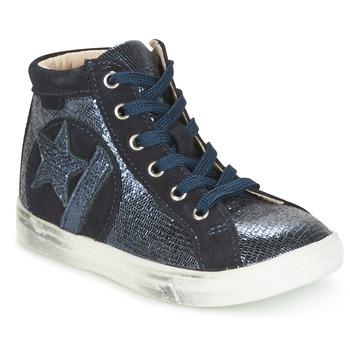 Topánky Dievčatá Členkové tenisky GBB MARTA Námornícka modrá