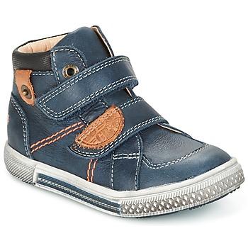 Topánky Chlapci Polokozačky GBB RANDALL Modrá