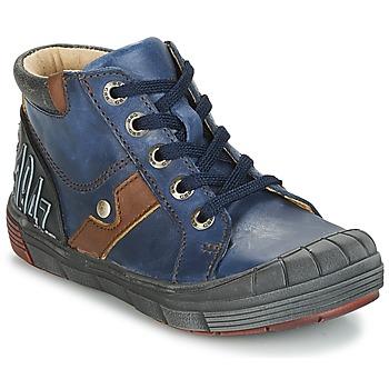 Topánky Chlapci Členkové tenisky GBB RENOLD Námornícka modrá