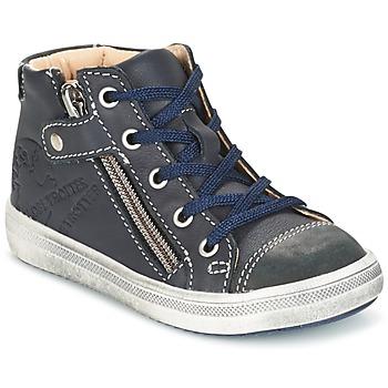 Topánky Chlapci Polokozačky GBB NICO Námornícka modrá
