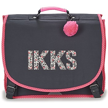 Tašky Dievčatá Školské tašky a aktovky Ikks ROCK CARTABLE 41CM Čierna / Ružová