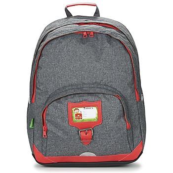 Tašky Deti Ruksaky a batohy Tann's CLASSIC SAC A DOS L šedá / červená