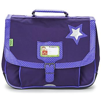 Tašky Dievčatá Školské tašky a aktovky Tann's LES CHICS FILLES CARTABLE 35CM Fialová