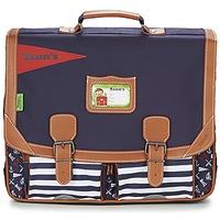 Tašky Chlapci Školské tašky a aktovky Tann's JESUS SAUVAGE CARTABLE 41CM Námornícka modrá
