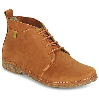 Topánky Ženy Polokozačky El Naturalista ANGKOR Ťavia hnedá