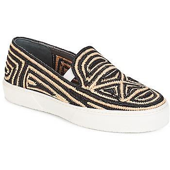 Topánky Ženy Slip-on Robert Clergerie  Čierna / Béžová
