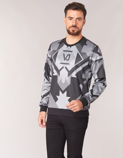 Oblečenie Muži Mikiny Versace Jeans B7GQA7F5 Čierna / Šedá