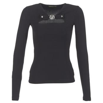 Oblečenie Ženy Blúzky Versace Jeans B2HQA732 čierna