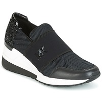 Topánky Ženy Nízke tenisky MICHAEL Michael Kors FELIX TRAINER Čierna