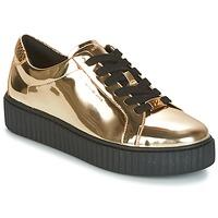 Topánky Ženy Nízke tenisky MICHAEL Michael Kors TRAVOR LACE UP Zlatá