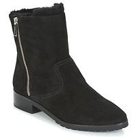 Topánky Ženy Polokozačky MICHAEL Michael Kors ANDI FLAT BOOTIE Čierna