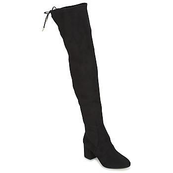Topánky Ženy Vysoké čižmy Jonak GINA Čierna