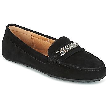 Topánky Ženy Mokasíny Lauren Ralph Lauren BERDINE Čierna