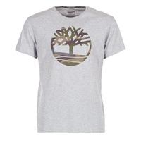 Oblečenie Muži Tričká s krátkym rukávom Timberland DUNSTAN RIVER CAMO PRINT šedá