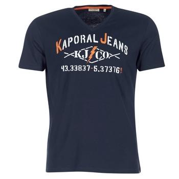 Oblečenie Muži Tričká s krátkym rukávom Kaporal MAKAO Námornícka modrá