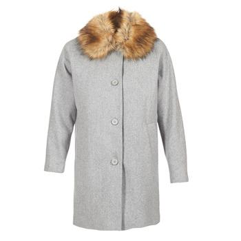 Oblečenie Ženy Kabáty Naf Naf ADOUTA šedá