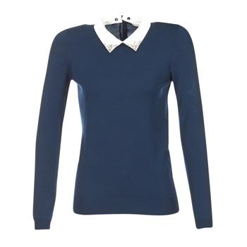 Oblečenie Ženy Svetre Naf Naf MARJORA Námornícka modrá