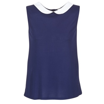Oblečenie Ženy Blúzky Naf Naf OCHOUPI Námornícka modrá