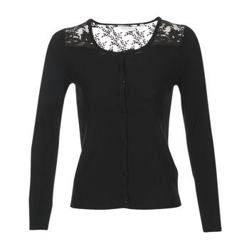 Oblečenie Ženy Cardigany Naf Naf MOBRANDY čierna