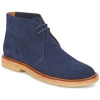 Topánky Muži Polokozačky Polo Ralph Lauren KARLYLE Námornícka modrá