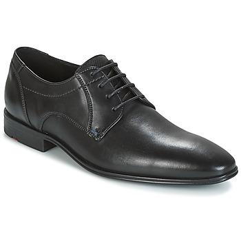 Topánky Muži Derbie Lloyd OSMOND Čierna