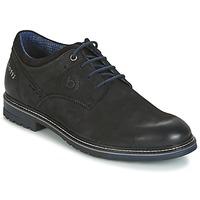 Topánky Muži Derbie Bugatti MARGE Čierna