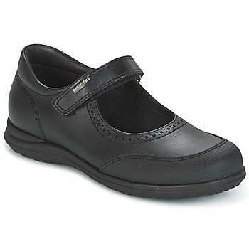 Topánky Dievčatá Balerínky a babies Pablosky BRODY čierna