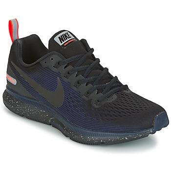 Topánky Ženy Bežecká a trailová obuv Nike AIR ZOOM PEGASUS 34 SHIELD čierna / Modrá
