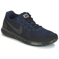 Topánky Ženy Bežecká a trailová obuv Nike FREE RUN 2017 SHIELD čierna / Modrá