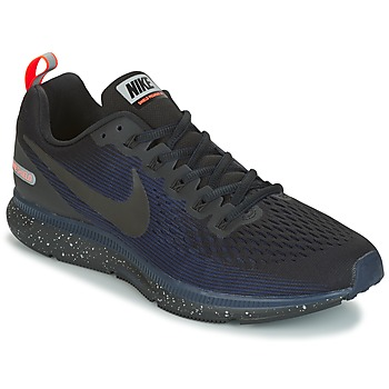 Topánky Muži Bežecká a trailová obuv Nike AIR ZOOM PEGASUS 34 SHIELD čierna / Modrá