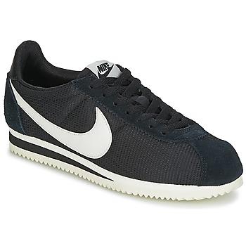 Topánky Ženy Nízke tenisky Nike CLASSIC CORTEZ NYLON W čierna / Biela