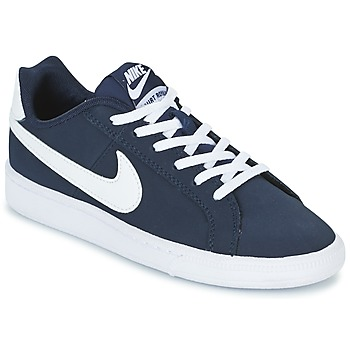 Topánky Chlapci Nízke tenisky Nike COURT ROYALE GRADE SCHOOL Modrá / Biela