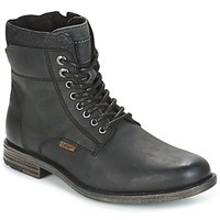 Topánky Muži Polokozačky Levi's EMERSON COLLAR čierna