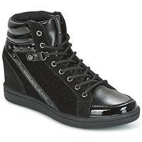 Topánky Ženy Členkové tenisky Versace Jeans  čierna