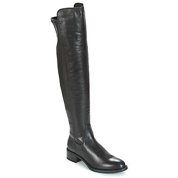Topánky Ženy Vysoké čižmy Unisa ELVIS čierna