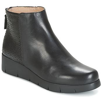 Topánky Ženy Polokozačky Unisa FANI čierna