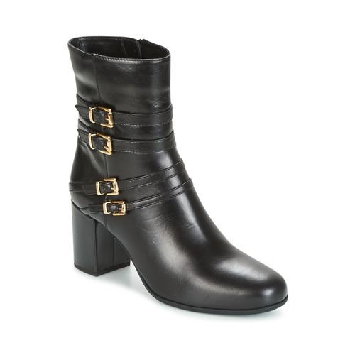 Topánky Ženy Čižmičky Unisa OPRA Čierna