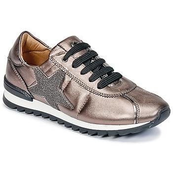 Topánky Dievčatá Nízke tenisky Unisa DONYA Bronzová