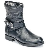 Topánky Dievčatá Polokozačky Unisa GADIN Čierna