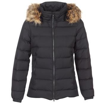 Oblečenie Ženy Vyteplené bundy Aigle RIGDOWN SHORT Čierna