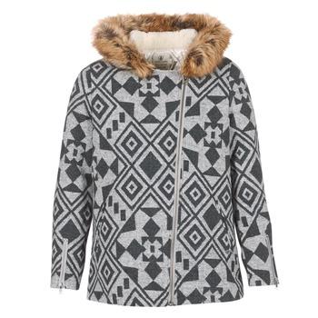 Oblečenie Ženy Kabáty Volcom SHOWDOWN JKT Šedá