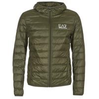 Oblečenie Muži Páperové bundy Emporio Armani EA7 TRAIN CORE ID DOWN LIGHT HD Kaki